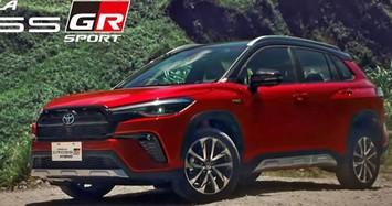 Cận cảnh Toyota Corolla Cross GR Sport 2021 giá từ 719 triệu đồng