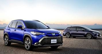 Cận cảnh Toyota Corolla Cross 2021 giá rẻ bèo tại Nhật Bản