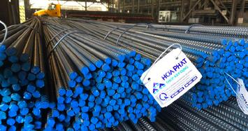 Sản lượng bán hàng ống thép Hoà Phát trong tháng 12 tăng 44%