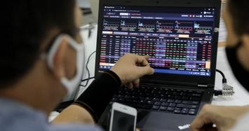 Cổ phiếu ngân hàng ngược dòng bứt phá trong phiên VN-Index giảm 9 điểm