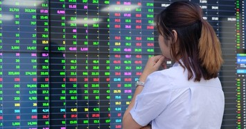 VN-Index thất bại chinh phục mốc 1.400