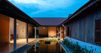 Ngắm nhà 3 gian hàng nghìn m2 ngỡ như resort cao cấp ở Tây Ninh