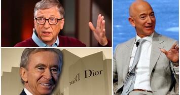Hé lộ 10 tỷ phú giàu nhất hành tinh 2020, người thứ 7 bỏ học trường Havard