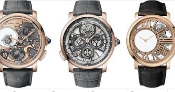 Cận cảnh bộ sưu tập đồng hồ hiếm, xa xỉ của Cartier