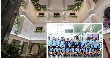 Cận cảnh khách sạn sang trọng đội tuyển Việt Nam đóng quân