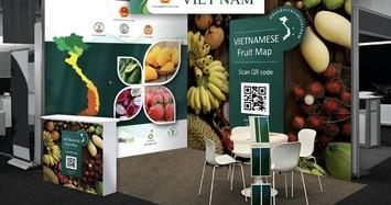 Bản đồ trái cây Việt Nam dự hội chợ lớn nhất châu Âu