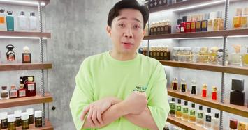 Bộ sưu tập hơn 500 chai nước hoa của Trấn Thành đáng giá bao nhiêu?