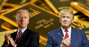 Giá vàng hôm nay 6/11 tăng vọt khi kết quả bầu cử Tổng thống Mỹ nghiêng về Joe Biden