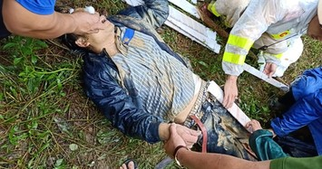 Clip lở núi khủng khiếp ở Quảng Nam, 1 người mất tích