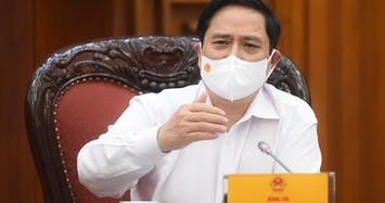 Thủ tướng Phạm Minh Chính họp khẩn về các biện pháp phòng chống COVID-19