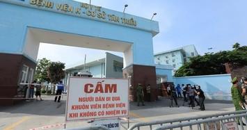 Bệnh viện K phong tỏa cả 3 cơ sở sau khi phát hiện 10 ca dương tính COVID-19