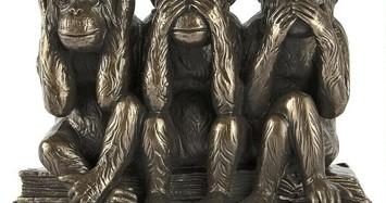 """Triết lý cực thâm thúy từ hình ảnh """"Bộ khỉ tam không"""""""