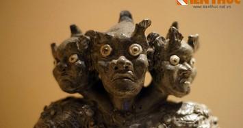 Biết gì về tượng ba đầu độc nhất vô nhị của nhà Nguyễn?