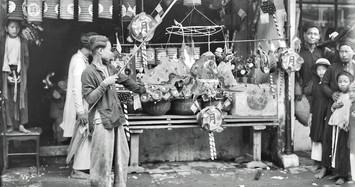 Tết Trung thu ở Hà Nội năm 1926 cực rực rỡ dù ảnh đen trắng