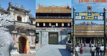 Những cánh cổng trăm tuổi kiến trúc đặc sắc của Hoàng thành Huế