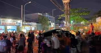 Trên xe người đàn ông tử vong do bị súng bắn xuyên tim ở Sài Gòn chứa thuốc lá lậu và dao tự chế.