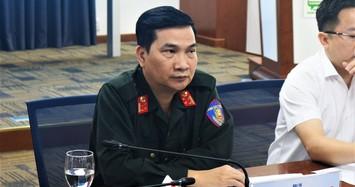 Đại tá Nguyễn Sỹ Quang - Phó Giám đốc Công an TPHCM.