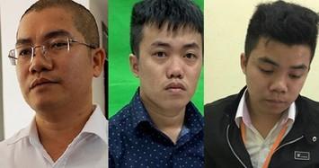"""Ba anh em gồm: Luyện - Lĩnh - Lực bị khởi tố bắt giam về hành vi """"lừa đảo chiếm đoạt tài sản"""" và """"Rửa tiền""""."""