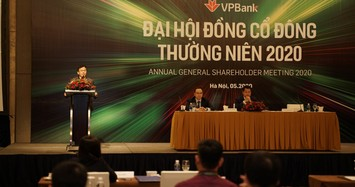VPBank đặt mục tiêu năm 2020 giảm 10% nhân sự và giảm 1,1% lợi nhuận