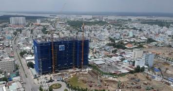 Dự án Sunshine City Sài Gòn nhìn từ trên cao.