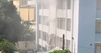 Công an nói gì về vụ nổ lớn bên trong Cục thuế tỉnh Bình Dương?