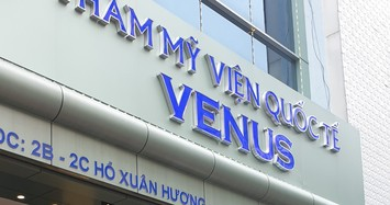 Thẩm mỹ viện quốc tế Venus bị tố lừa đảo: Thanh tra Sở Y tế nói gì?