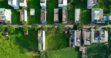 Cận cảnh dự án chưa được giao đất đã xây hơn 200 căn nhà bán cho khách hàng