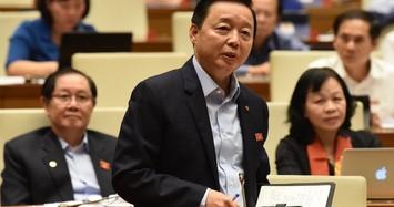 Bộ trưởng Trần Hồng Hà nói về dự án lấn biển Cần Giờ