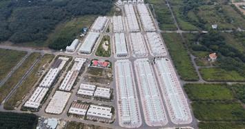 Cận cảnh 500 căn nhà do LDG xây 'lụi' tại Đồng Nai