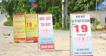 HoREA đề xuất hàng loạt loại thuế ngăn chặn sốt đất ảo