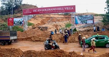 Vụ Goldsand Hill Villa sạt lở: Tỉnh Bình Thuận kiểm tra dự án trên đồi núi