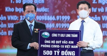 Golf Long Thành ủng hộ 500 tỷ đồng vào Quỹ vaccine phòng chống COVID-19