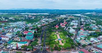 Trung tâm thị trấn Lộc Thắng, huyện Bảo Lâm. Ảnh: Báo Lâm Đồng.