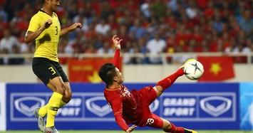 Quế Ngọc Hải phất đường chuyền tuyệt hảo, Quang Hải ghi bàn mang chiến thắng về cho Việt Nam trước Malaysia