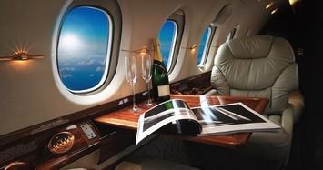 Một lần xem giới siêu giàu đi máy bay đẳng cấp sang chảnh