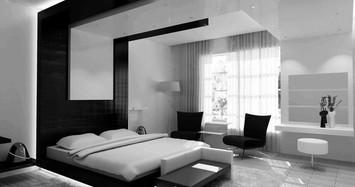 Căn hộ nội thất màu đen vô cùng huyền bí và cực kỳ sang trọng