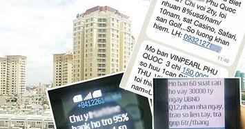 Cấm gọi và nhắn tin rác quảng cáo bất động sản từ ngày 1/10