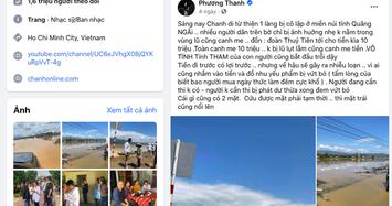 Sở TT&TT TP.HCM làm việc với Phương Thanh sau phát ngôn về từ thiện ở Quảng Ngãi