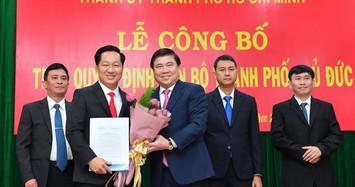 Yêu cầu lãnh đạo 3 quận cũ bàn giao nhiệm vụ cho Chủ tịch TP Thủ Đức