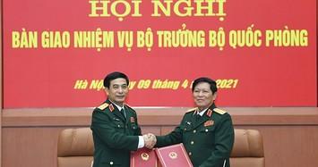 Tổ chức Hội nghị bàn giao nhiệm vụ Bộ trưởng Bộ Quốc phòng