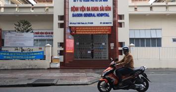 5 F0 đến khám, Bệnh viện Đa khoa Sài Gòn tạm dừng tiếp nhận bệnh nhân