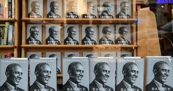 Viết sách, hồi ký giúp ông Obama thu nhập khủng