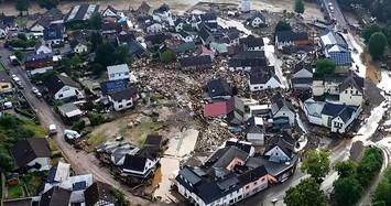 Toàn cảnh lũ quét tàn phá Châu Âu