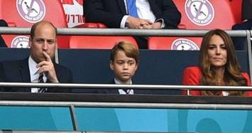 Hình ảnh đáng yêu của tiểu Hoàng tử George tròn 8 tuổi