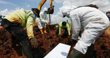 Indonesia vượt mốc hơn 100.000 người tử vong vì COVID-19
