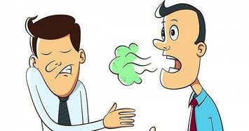 """Tự phát hiện bệnh đường ruột nhờ dấu hiệu """"1 đau, 1 đen, 3 mùi"""""""