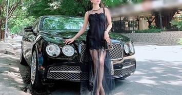 Lệ Quyên sở hữu siêu xe Bentley Flying Spur biển khủng, tiền tỷ