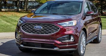 Ngắm Ford Edge 2021 sở hữu màn hình 'khổng lồ'