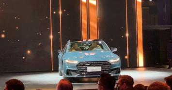 Ngắm Audi A7L 2021 giá hơn 2 tỷ đồng tại Trung Quốc