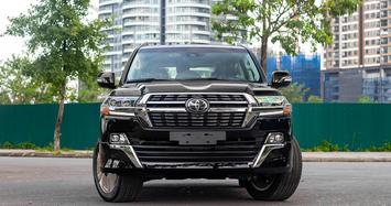 Ngắm Toyota Land Cruiser 2021 máy dầu hơn 6 tỷ tại Việt Nam